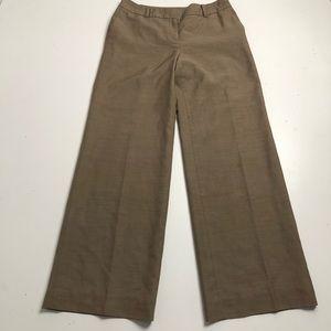 Ann Taylor Loft Brown Wool Dress Pants Size 8